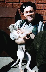 Billy and one of his whippets Whippets, Post Punk, Music Is Life, Glamour, Cool Stuff, Portrait, Heart, Image, Scary