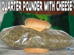 Quarter pounder with cheese, please. Hold the cheese.