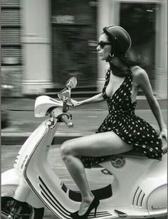"""""""Life is a journey. Enjoy the ride."""" - """"This is Your Quest. The book itself is a journey, and Reed excels at holding the hand of her gue - Scooters Vespa, Motos Vespa, Piaggio Vespa, Lambretta Scooter, Motor Scooters, Vespa Lxv, Vintage Vespa, Motos Vintage, Vespa Girl"""