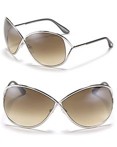 5fbbfb66e4d Tom Ford Miranda Crossover Metal Sunglasses Tom Ford Sunglasses