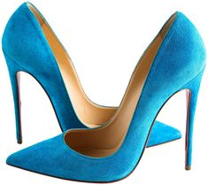 Get the must-have pumps of this season! These Christian Louboutin Blue Egyptian Suede So Kate Pumps Size US Regular (M, B) are a top 10 member favorite on Tradesy. Blue Heels, High Heels, Louboutin Shoes Women, Christian Louboutin So Kate, Patent Leather Pumps, Pointed Toe Pumps, Blue Suede, Ankle Strap Sandals, Beautiful Shoes