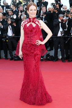 The 2017 Cannes Red Carpet's Best-Dressed Celebrities JULIANNE MOORE