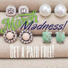 Any order of $100 or more placed on my online boutique now through the end of the month will receive FREE shipping and a FREE pair of earrings from me! Every piece is hypoallergenic and backed by a lifetime replacement guarantee! www.candibychristine.com