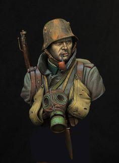 WWI German Stormtrooper - Virtual Museum of Historical Miniatures
