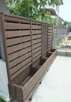 45 Stunning Garden Privacy Fence Ideas for Inspiration of Garden Privacy Screening 26 - 15 garden design Backyard privacy screens ideas Privacy Fence Landscaping, Privacy Fence Designs, Garden Privacy, Backyard Privacy, Diy Fence, Backyard Garden Design, Backyard Fences, Patio Design, Backyard Landscaping