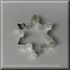 """3"""" Snowflake Metal Cookie Cutter"""