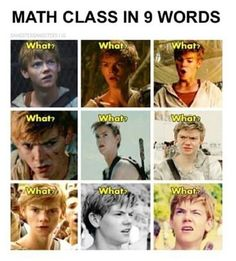 Seriously Thomas!!! You have the best facial expressions!!
