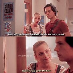 """Riverdale """"Chapter Thirty-Eight: As Above, So Below"""" Riverdale Quotes, Bughead Riverdale, Riverdale Archie, Riverdale Funny, Riverdale Netflix, Thea Queen, Best Memes, Funny Memes, Riverdale Betty And Jughead"""