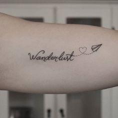 Wanderlust tattoos mini tattoos, small tattoos, new tattoos, body art tattoos, little Tattoos For Women Small, Small Tattoos, Cool Tattoos, Tatoos, Mini Tattoos, Body Art Tattoos, Wanderlust Tattoos, Wanderlust Quotes, Tattoos Lindas