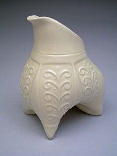 Sandi Pierantozzi pottery at MudFire Gallery