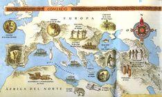 mapas del mundo antiguo en culturaclasica.com