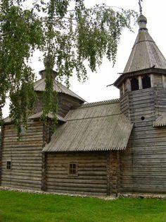 Блог рыжей лисицы: Россия...Купола....Русское деревянное зодчество.