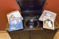 Among nearly 2,000 pieces of sheet music in the Charles H. Templeton Sheet Music Museum are a number of songs celebrating fathers. The museum is housed on the fourth floor of Mitchell Memorial Library.