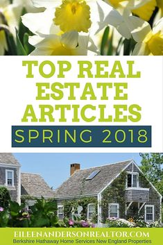Top Real Estate Articles Spring 2018. How to interview agents, Dual Agency, Buying Condos, How to prepare your home to sell, Steps to home buying, How Not to Kill Your Home Sale, Curb Appeal, Home Permits. #realestate http://www.eileenandersonrealtor.com/top-real-estate-articles-spring-2018-for-buyers-and-sellers/