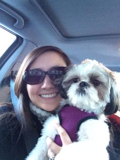 Allie and I on our Christmas road trip round 1!