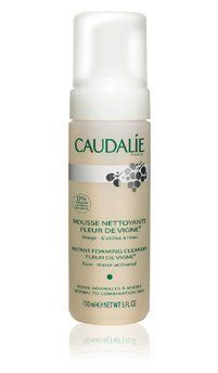 Caudalie Mini Instant Foaming Cleanser (1.6 oz) by Caudalie. $14.00. Gently removes all impurities from skin. Turns into an airy mousse. With grape extracts, sage and chamomile. Soap-free. Suited for all skin types. This gentle cleanser transforms into an airy mousse for delightful soap-free cleansing. Skin is left fresh and clear, but never stripped. (size: 1.6 oz)