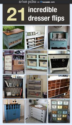 I'm absolutely obsessed with re purposed furniture!!! Oh, the opportunities are endless ♡
