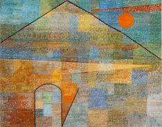 """""""Ad Parnassum,"""" 1932, Paul Klee. Kunstmuseum, Bern."""
