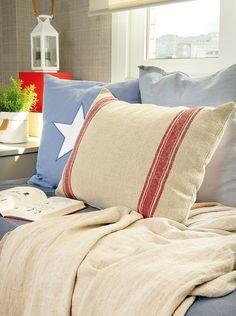 Un cuarto que crece con ellos Textiles, Throw Pillows, Blanket, Bed, Furniture, Kids Rooms, Home Decor, Country, Random