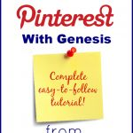 Verify Your Website on Pinterest with Genesis