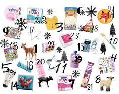 Adventskalender Ideen Diy And Crafts, Photo Wall, Winter, How To Make, Gifts, Christmas Ideas, Fimo, Noel, Homemade Advent Calendars
