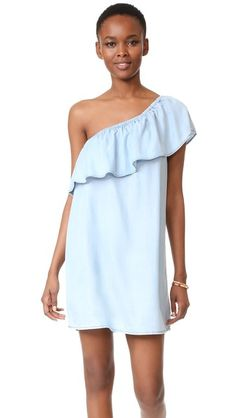 BB Dakota One Shoulder Ruffle Dress | SHOPBOP