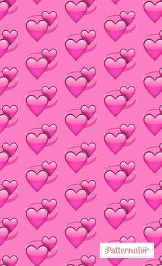 heart, pink, and wallpaper image Pink Emoji Wallpaper, Heart Wallpaper, Cute Wallpaper Backgrounds, Love Wallpaper, Aesthetic Iphone Wallpaper, Aesthetic Wallpapers, Cute Wallpapers, Love Heart Emoji, Emoji Love
