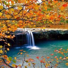 Majestic Falling Water Falls, Ozark National Forest, Arkansas