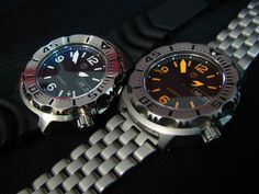 2 Modded Seiko Monsters