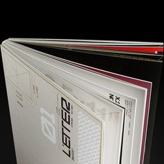 LETTER an Experimental design book by Mehmet Gozetlik, via Behance Book Cover Design, Book Design, Layout Design, Print Design, Typography Prints, Typography Design, Lettering, Editorial Layout, Editorial Design