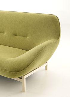 Philippe Nigro designs curvaceous sofa for Ligne Roset http://decdesignecasa.blogspot.it