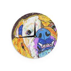 "Rebecca Fisher ""Tucker"" Bulldog Wall Clock"