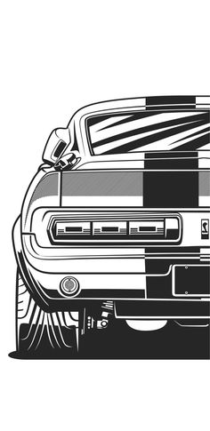 'Supra Sticker by OlegMarkaryan Ford Mustang Shelby Gt500, Mustang Cars, Ford Mustang Eleanor, Cool Car Drawings, Car Silhouette, Cars Coloring Pages, Street Racing Cars, Car Vector, Car Illustration