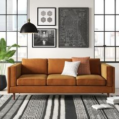Get inspired by Modern Living Room Design photo by AllModern. AllModern lets you find the designer products in the photo and get ideas from thousands of other Modern Living Room Design photos. Sofa Furniture, Living Room Furniture, Modern Furniture, Furniture Ideas, Quality Furniture, Furniture Design, Space Furniture, Plywood Furniture, Handmade Furniture