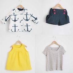 Maritime Outfit (E & E Bubble Shorts Part Deux)