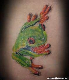Frog Tattoo Tree Frog Tattoos, Tree Frogs, Jason Momoa, Picture Tattoos, Tatting, Walls, Animals, Random, Art