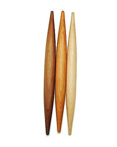 Hand Turned French-Style Rolling Pins (Walnut, Cherry or Maple) by Vermont Rolling Pins