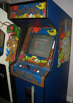 I loved this hard ass game! Ghosts'n'Goblins Arcade Game (1985)