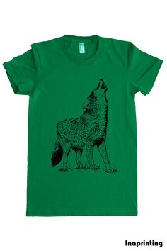 Moose Playing Drums T Shirt.Women's American Apparel Fine Jersey Short ...