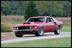SOLD $240k ~ 1969 Ford Mustang Boss 429 Fastback KK #1696, 429/375 HP, 4-Speed Photo 1