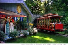Idlewild theme park in Pittsburg PA had a trolley ride through a life-size replica of Mister Roger's house and neighborhood!!!