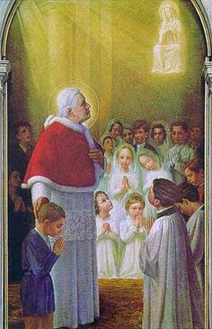 "Our Morning Offering – August 21 #pinterest  Heavenly Father, today I ask of Your great Saint, glorious Pope of the Eucharist, Saint Pius X, who sought ""to restore all things in Christ."" To obtain for me a true love of Jesus so that I may live only for Him. To help me to acquire..........
