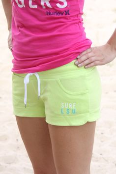 LSU Shorts by Hurley