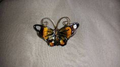 Vintage David Anderson Enameled Sterling by PastPossessionsOnly