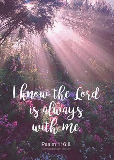 Lord always with me, and even in the pain that he gives as a lesson and then heals her only with kindness and love. ❤