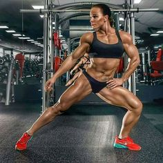 Ekaterina Grima #femalemuscle #strong #fit #muscle #ifbb #bodybuilding
