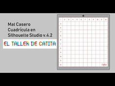 (1052) Mat casero - cuadrícula hecha en Silhouette Studio - YouTube Silhouette Cameo, Periodic Table, Youtube, Grid, Homemade, Periotic Table, Youtube Movies