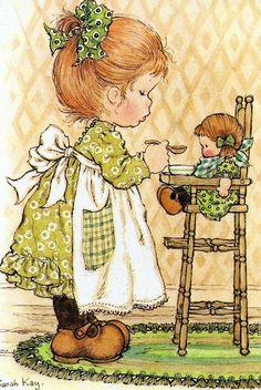 Воспоминания о детстве... Художница Sarah Kay. Часть 8.. Обсуждение на LiveInternet - Российский Сервис Онлайн-Дневников