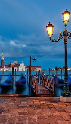 Venice sunset, San Giorgio Maggiore, ⊱Venice, Italy