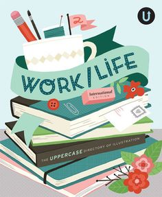 I have this book too... it's just GREAT... so many artists in it and their beautiful work!!  Work/Life 2